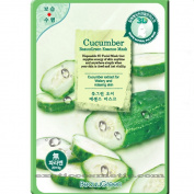 Beauu Green 3D Shape Facial Mask Sheet Pack - Cucumber