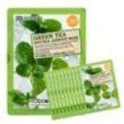 Foodaholic 3D Natural Essence Mask Pack Green Tea 10 sheets