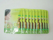 Korean Cosmetics Cellio Extra Soothing Essential Mask Green Tea 10 sheets