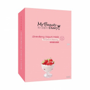 My Beauty Diary Strawberry Yoghurt Mask II, 10 pcs