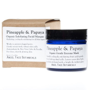 Pineapple and Papaya Organic Gentle Exfoliating Enzyme Mask for All Skin Types 35ml