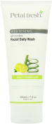 Bio Creative Lab Petal Fresh Botanicals Whitening and Peel Facial Daily Wash Oil Control, Aloe and Lemon, 7 Fluid Ounce