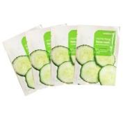 Watsons 4 Moisturising Facial Masks Cucumber Extract
