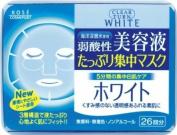 Kose Clear Turn Essence Facial Mask White - 26 masks