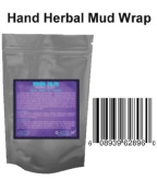 2 Oz Hand Herbal Mud Wrap Mask + How to Use Cd - 100% Natural Organic Mask - Preservative Free - This Super Rich Extracts Anti Wrinkle Hand Mask (Pyramid) Is Highly Effective 100% Organic Natural Ingredients Ensure a Complete Treatment for All Skin Types