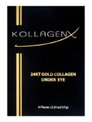 Kollagenx 24kt Gold Collagen Under Eye 4-piece Unit, 15ml