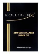 Kollagenx 24kt Gold Collagen Under Eye 4-piece Unit, 15ml