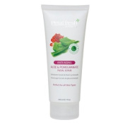 Petal Fresh Aloe and Pomegranate Facial Scrub, 240ml