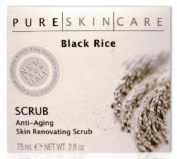 Pure Skin Care Black Rice Anti-ageing Skin Renovating Scrub 80ml