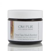Om Pur Dead Sea Mud-Bamboo Refining Facial Exfoliant 60ml