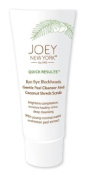 Joey New York Quick Results Bye Bye Blackheads Gentle Peel Cleanser and Shredded Coconut Scrub, 6.6 Fluid Ounce