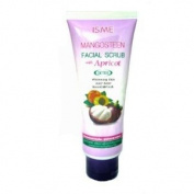 Isme Mangosteen Facial Scrub with Apricot Detox Whitening & Anti-blackhead Detox Amazing of Thailand