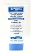 Dermasil Labs Oil Free Night Moisturiser Facial Cream 60ml