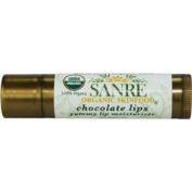 SanRe Organic Skinfood - Chocolate Lips - 100% USDA Organic Yummy Cocoa Day Lip Balm