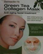 Dermactin-TS Green Tea Collagen Mask - 5 Masks