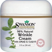 Wrinkle Cream With Dmae & Coq10 2 fl oz (59 ml) Cream