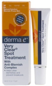 Derma e - Very Clear Spot Blemish Treatment Cream