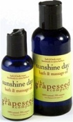 Bath and Massage Oil - Sunshine Day By the Grapeseed Co
