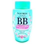 NATRIV FRESH WHITE BB OIL CONTROL CONCEALING FACE POWDER MULBERRY & BEARBERRY