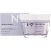 Boots No 7 Beautiful Skin Night Cream - Dry / Very Dry 45ml