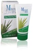Mineral Line - Aloe Vera, moisturising Deep CLEANSING Gel,120 ml / 4 oz
