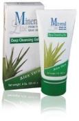 Mineral Line - Aloe Vera, moisturising Deep CLEANSING Gel,120 ml / 4 oz