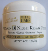 Vital Care Vitamin E Night Repair Creme Age-defying Antioxidants 120ml