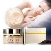 Mistine Caviar Night Repair Treatment Anti-ageing Wrinkles Nourishing Cream.