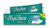 Twin Lotus Plus Salt Herbal Toothpaste (180 g).