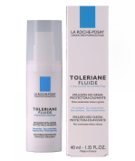 La Roche-Posay Toleriane Fluide Daily Soothing Oil-Free Facial Moisturiser for Sensitive Skin, 40ml