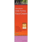 Alaffia - Shea Butter Daily Toning Face Cream - Unscented, 70ml cream