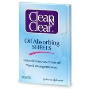 Clean & Clear Oil-Absorbing Sheets, 50-Count Sheets