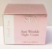 Dead Sea Spa Pink Edition Anti Wrinkle Night Cream 50ml