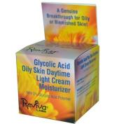 Reviva Labs Glycolic Acid Oily Skin Daytime Light Cream Moisturiser 42g45ml