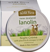 Lanolin, Placenta and Omegas 3, 6 and 9 Night Creme