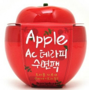 KOREAN COSMETICS, Baviphat_ Apple AC Therapy sleeping pack, 100g (trouble-improvement, skin-soothing)[001KR]