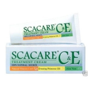 Scacare C & E Aloe Vera Revitalising Acne Scar Reducer Healing Cream 15 G. Made in Thailand