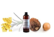 Helichrysum Italicum Infused in Organic Argan Oil for Wrinkles, Scars, Stretch Marks / 50 Ml
