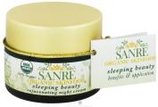 SanRe Organic Skinfood - Sleeping Beauty - 100% USDA Organic Balancing Night Cream For Normal/Oily to Combination Skin