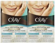 Olay Smooth Finish Facial Hair Removal Duo 1 Kit