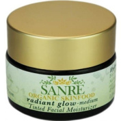 SanRe Organic Skinfood - Radiant Glow Medium - Organic Tinted Facial Moisturiser For All Skin Types