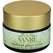 SanRe Organic Skinfood - Radiant Glow Medium - Organic Tinted Facial Moisturiser For All Skin Types