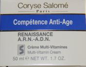 Competence Anti-Age Multi-Vitamin Cream - Coryse Salome - Anti-Age - Night Care - 50ml/1.7oz