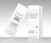 Vasanti Brighten Up! Enzymatic Face Rejuvenator - 130ml Powerful Scrub Brightens, Exfoliates and Cleanses Gently with Instant Results for Soft, Smooth and Radiant Skin - Enriched with Papaya, Professional Microcrystals and Aloe - 100% Paraben Free, 1 ..