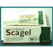 10x Cybele Scagel Cream Soften Smoothen Reduce Scar Ance Burn Keloid 19 G. Amazing of Thailand