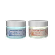 Venus Eye Cream Combo Super Firming Day and Anti-Ageing Night 2 - .5oz (15ml) Jars