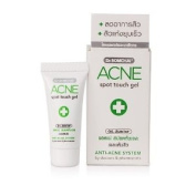 Dr. Somchai Acne Spot Touch Gel Treatment Pimple Clear up Anti-acne Unclog Pores Amazing of Thailand