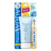 Biore Sarasara Uv Aqua Rich Waterly Essence Sunscreen 50g Spf50+ Pa+++ for Face and Body & Mini Tool Box