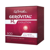 GEROVITAL H3 EVOLUTION, Anti-Wrinkle Cream Highly Moisturising With Superoxide Dismutase (The Anti-Ageing Super Enzyme) 45+