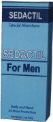 Sedactil for Men - Triple Action - Hydrates without Greasiness, Forms Anti-Bacterial Barrier, Soothes Hard Playing, Hard Working Hands